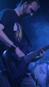 Simon, Darkstone's bass player